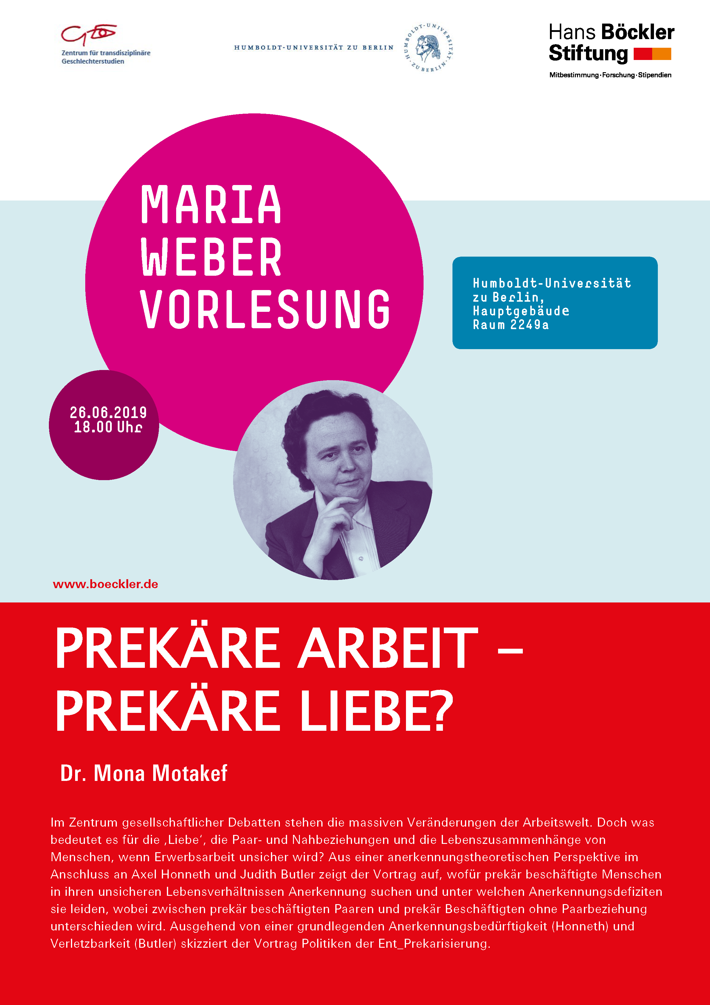 Motakef HBS Maria Weber Vorkesung 2019