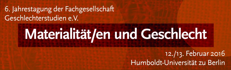 Banner FG-Tagung